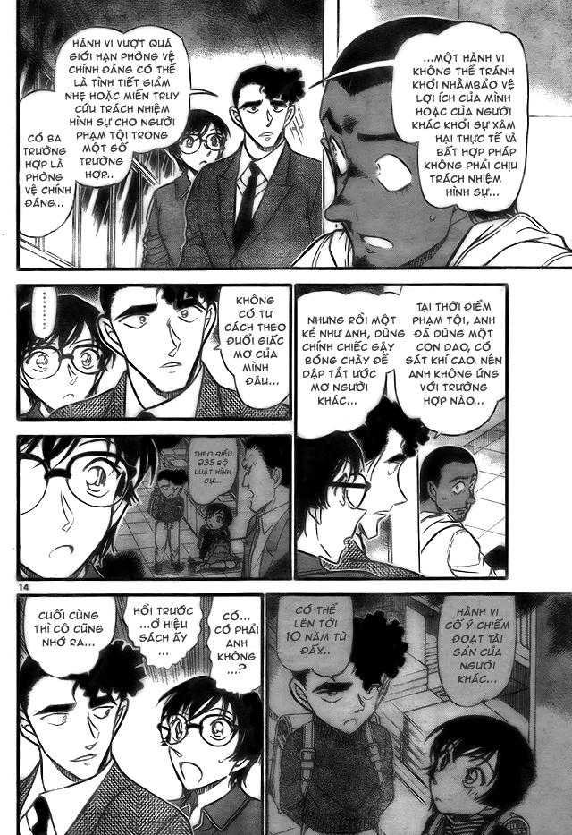 Detective Conan - Thám Tử Lừng Danh Conan chap 708 page 14 - IZTruyenTranh.com