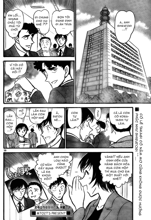 Detective Conan - Thám Tử Lừng Danh Conan chap 708 page 16 - IZTruyenTranh.com
