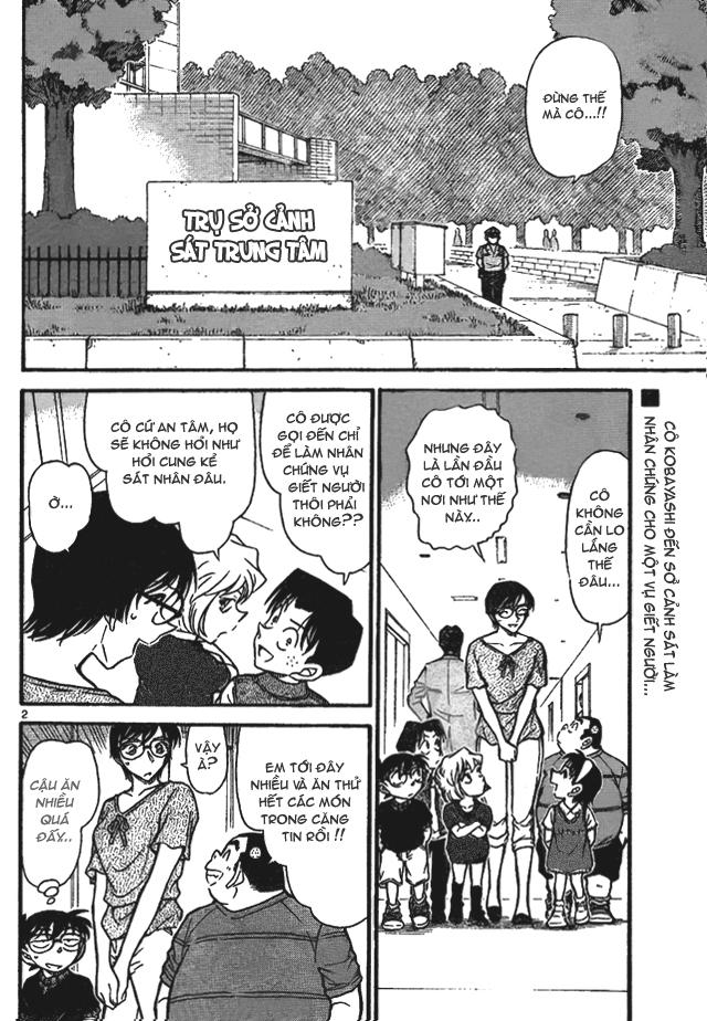 Detective Conan - Thám Tử Lừng Danh Conan chap 706 page 2 - IZTruyenTranh.com