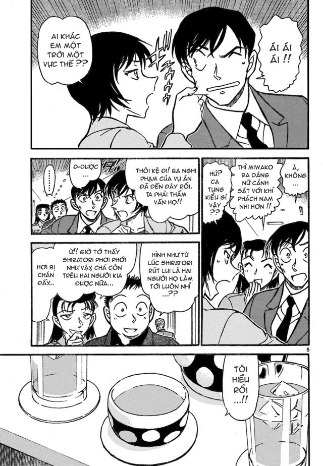 Detective Conan - Thám Tử Lừng Danh Conan chap 706 page 5 - IZTruyenTranh.com