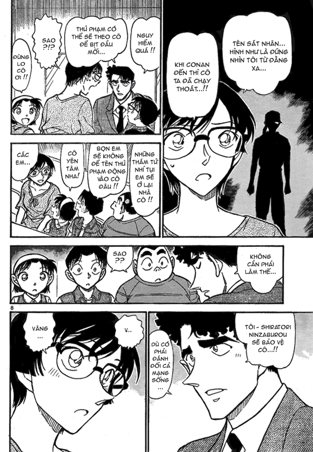 Detective Conan - Thám Tử Lừng Danh Conan chap 706 page 8 - IZTruyenTranh.com