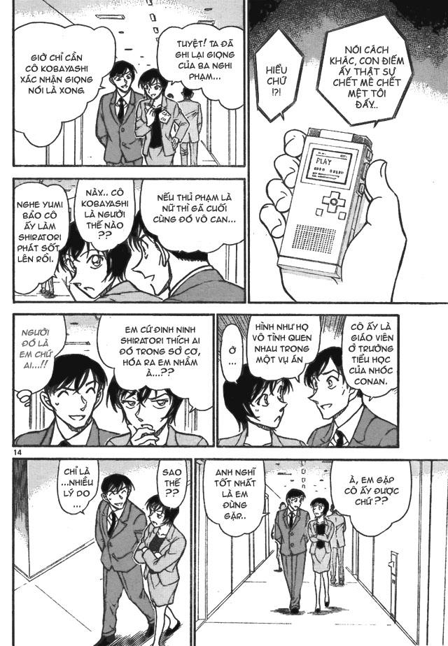 Detective Conan - Thám Tử Lừng Danh Conan chap 706 page 14 - IZTruyenTranh.com