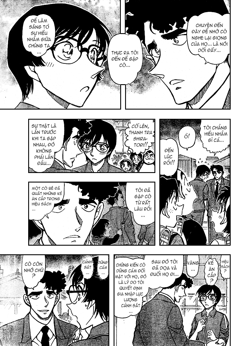Detective Conan - Thám Tử Lừng Danh Conan chap 707 page 16 - IZTruyenTranh.com