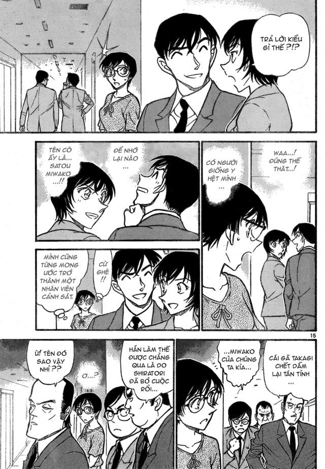Detective Conan - Thám Tử Lừng Danh Conan chap 706 page 15 - IZTruyenTranh.com