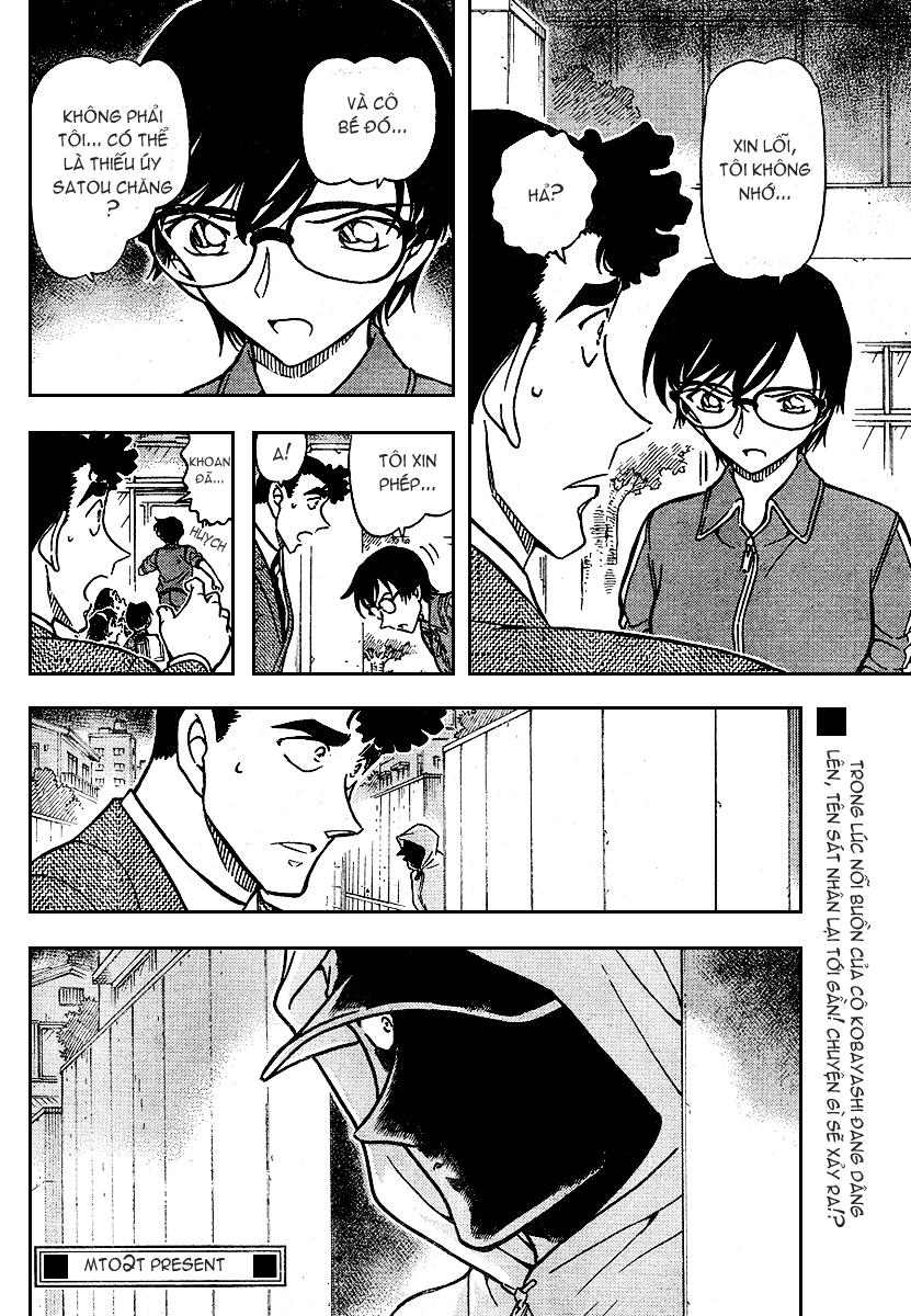 Detective Conan - Thám Tử Lừng Danh Conan chap 707 page 17 - IZTruyenTranh.com