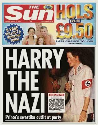 prince harry nazi photo. prince harry nazi.