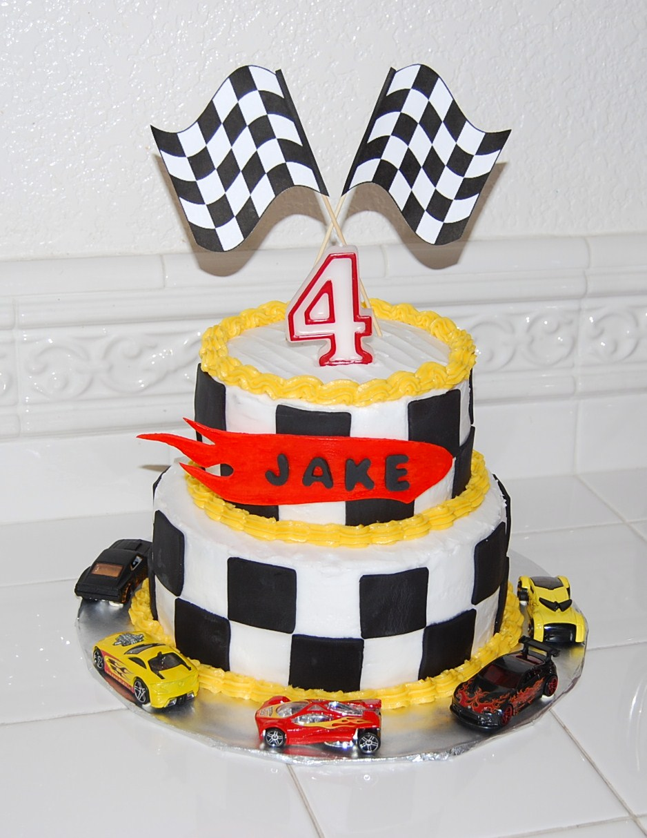 Creative Cakes By Rochelle: Hot Wheels Cake