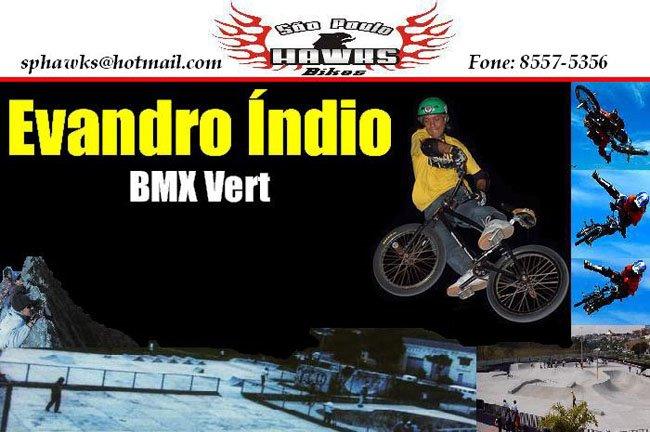 Evandro Indio BMX Vert.