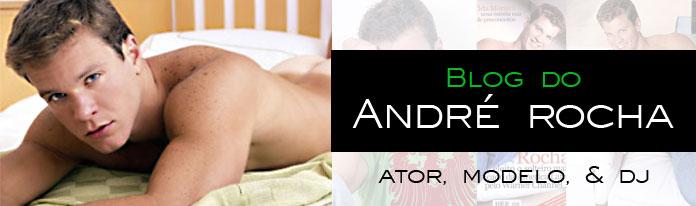 André Rocha - ator, modelo e DJ
