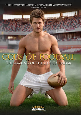 Cover model/rugby stud David Williams is one of 40 sexy young Aussie jocks ...