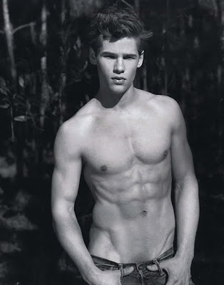 Caleb Halstead by Bruce Weber for A&F! | VGL | The Male Model Daily