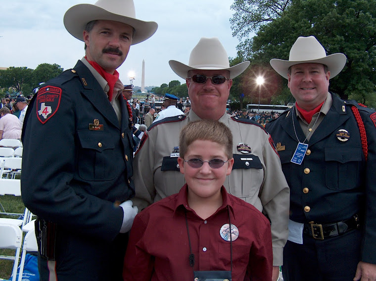 Tanner with Pct. 4 Deputies