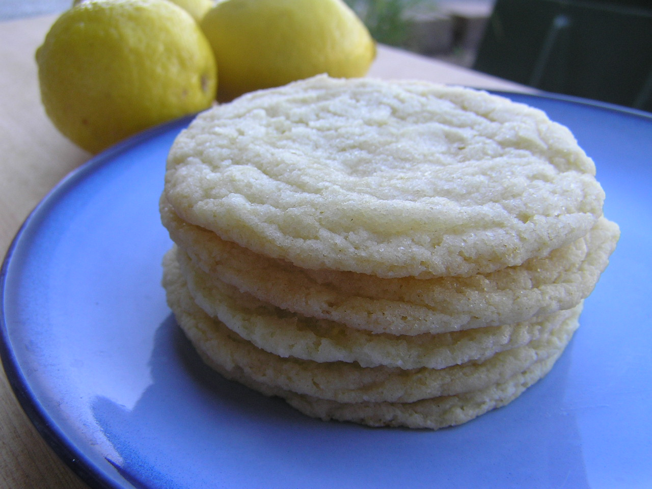 Sweet Luvin' In The Kitchen: Chewy Lemon Sugar Cookies