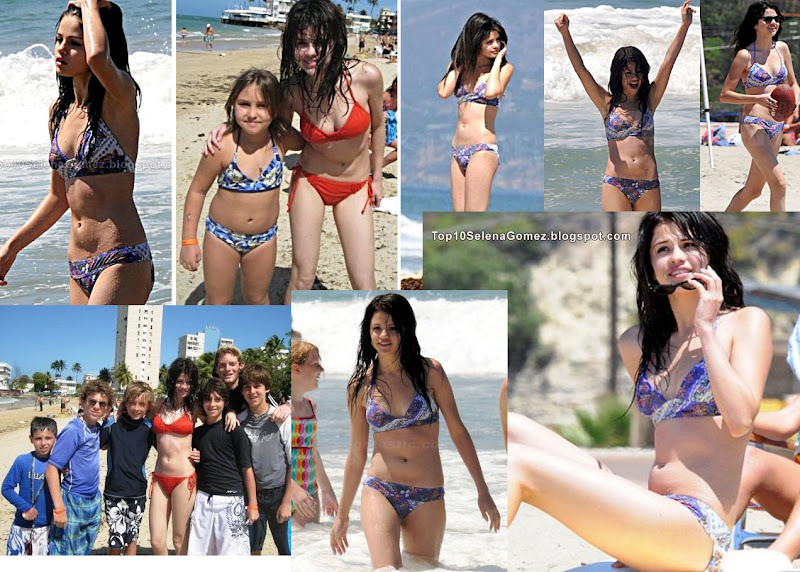 selena gomez unseen rare bikini pics