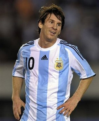 Lionel Messi Barcelona 2010