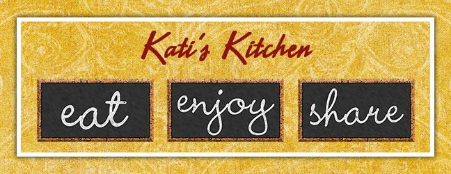 Kati's Kitchen: Freezer Cooking Tips and Recipes