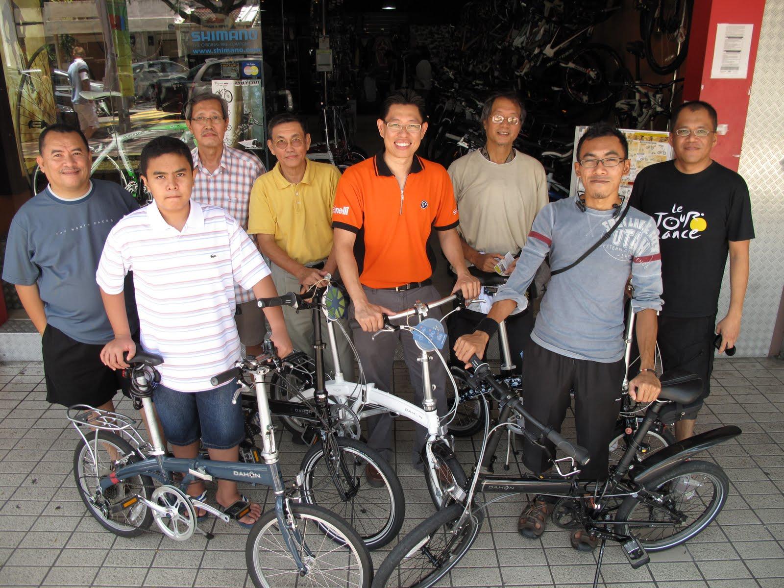 The Samosaurus Chronicles Malaysia Dahon Folding Bike Club Meeting