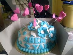 Unique Fondant cake