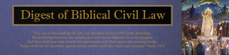 Digest of Biblical Civil Law