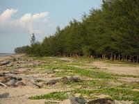 Muara Beach in brunei