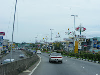 Road to Gadong Brunei