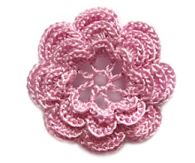Crochet Flower Pattern 2 (level: advanced)