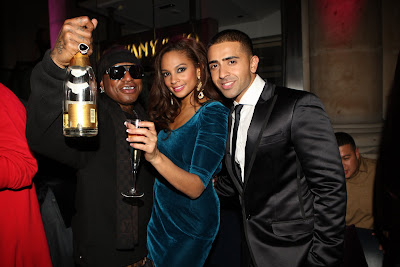 Birdman, Alesha Dixon and Jay Sean