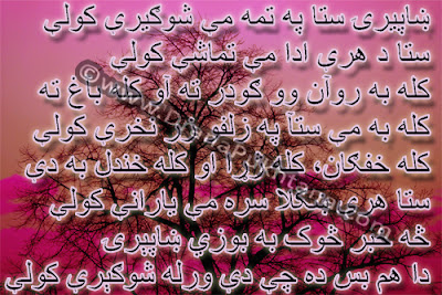 Pashto Sad Ghazal