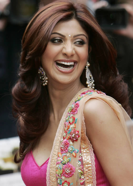 shilpa shetty in saree. Shilpa Shetty New Party Cool