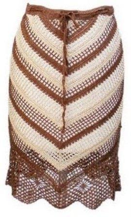 Вязание - Платья, юбки, туники, схемы и.