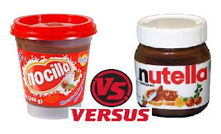 Nocilla Vs Nutella
