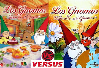 David el gnomo Vs Juez Claus
