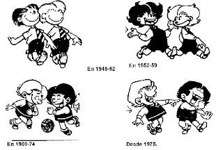 Evolucion Zipi y Zape