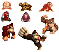Evolucion Donkey Kong