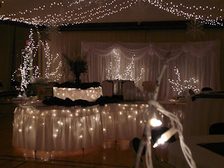 Winter Wonderland Wedding Decorations
