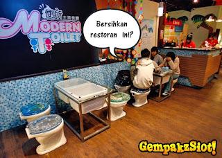 restoran+bertemakan+jamban+%25285%2529 Restoran Moden Di Taiwan Bertemakan Suasana Di Tandas,Sedapnya!