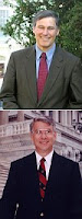 Reps. Inslee (top) and Manzullo (bottom)