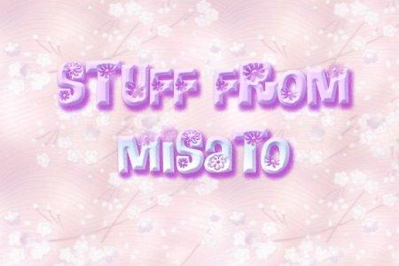 Stuff from Misato