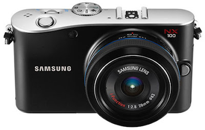 Samsung NX100 Mirrorless camera