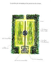 le jardin pinstriping