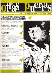 Otras Puertas 3. Marzo 1994