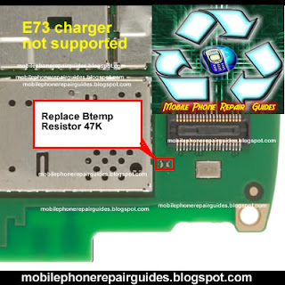 Nokia e73 charger not supported solution