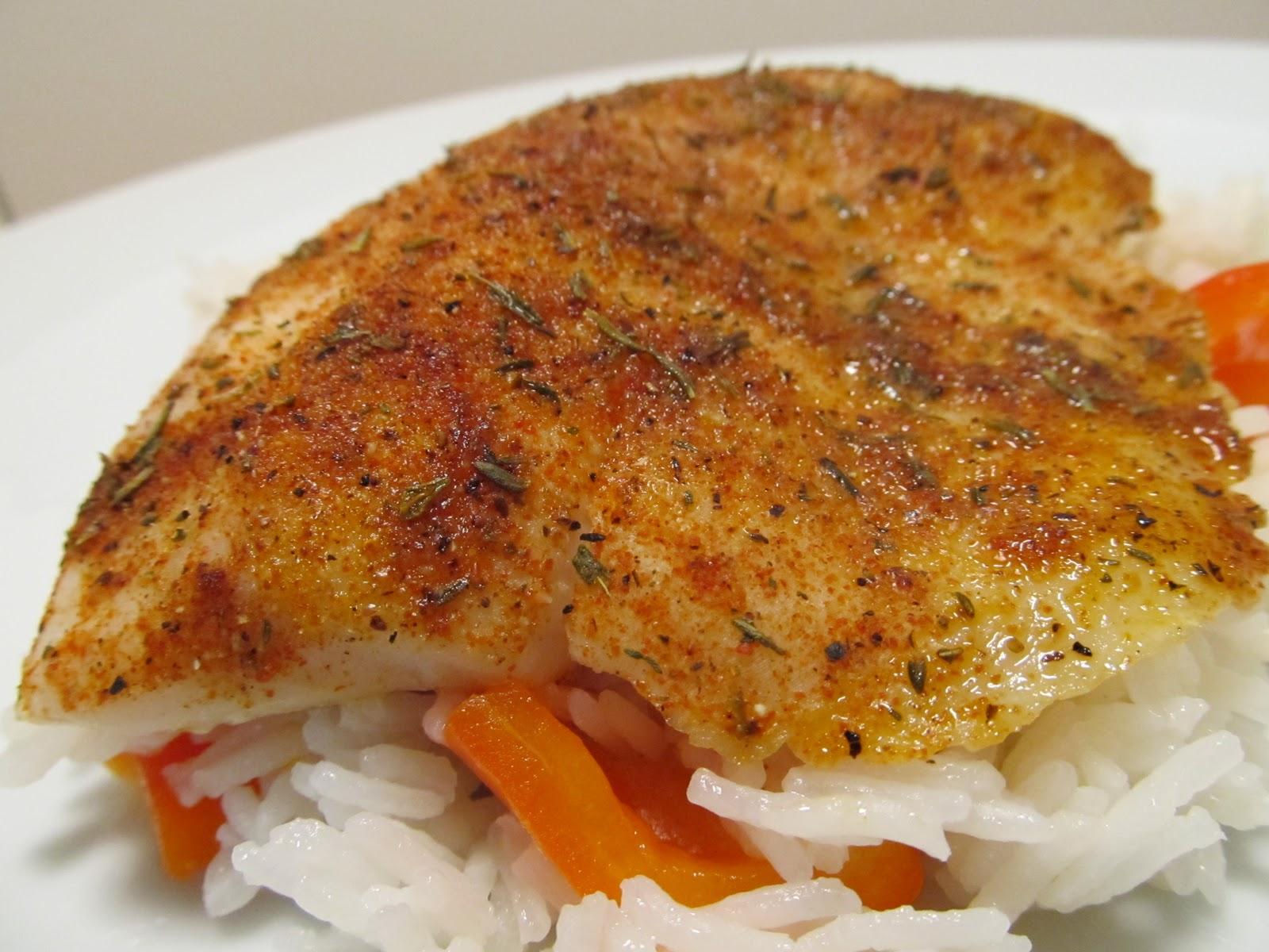 Baked cajun fish for Cajun fish recipes