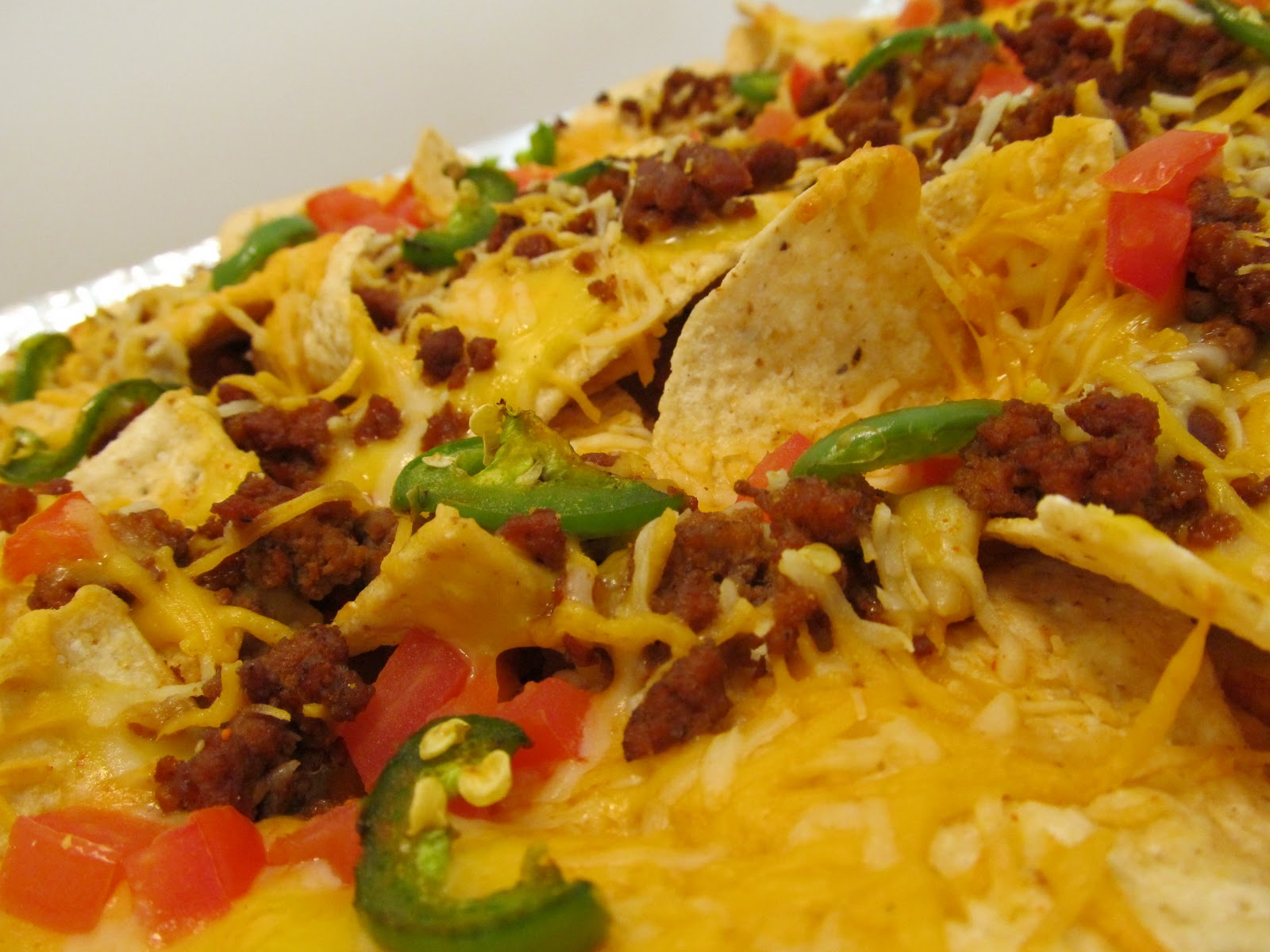 Jenn's Food Journey: Grilled Nachos