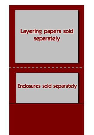 Pocket fold Invitations