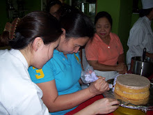 Ms. Eileen of Saudi Arabia on Basic Cake Class