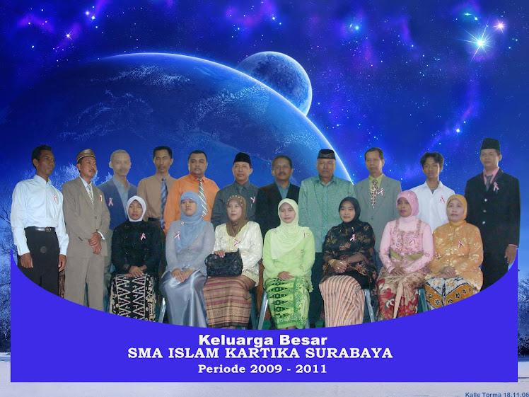 Pengajar SMA Islam Kartika Surabaya