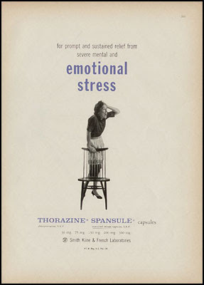 for prompt and sustained relief from mental and emotional stress - Thorazine