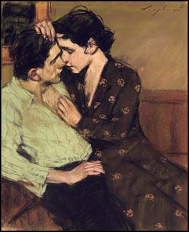 Couple in love - Malcolm Liepke