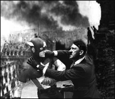 Captain America vs. Hitler [clique para ampliar]